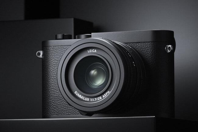 The new(-ish) Leica Q2 Monochrom. Same thing, minus a red dot, and all black and white.