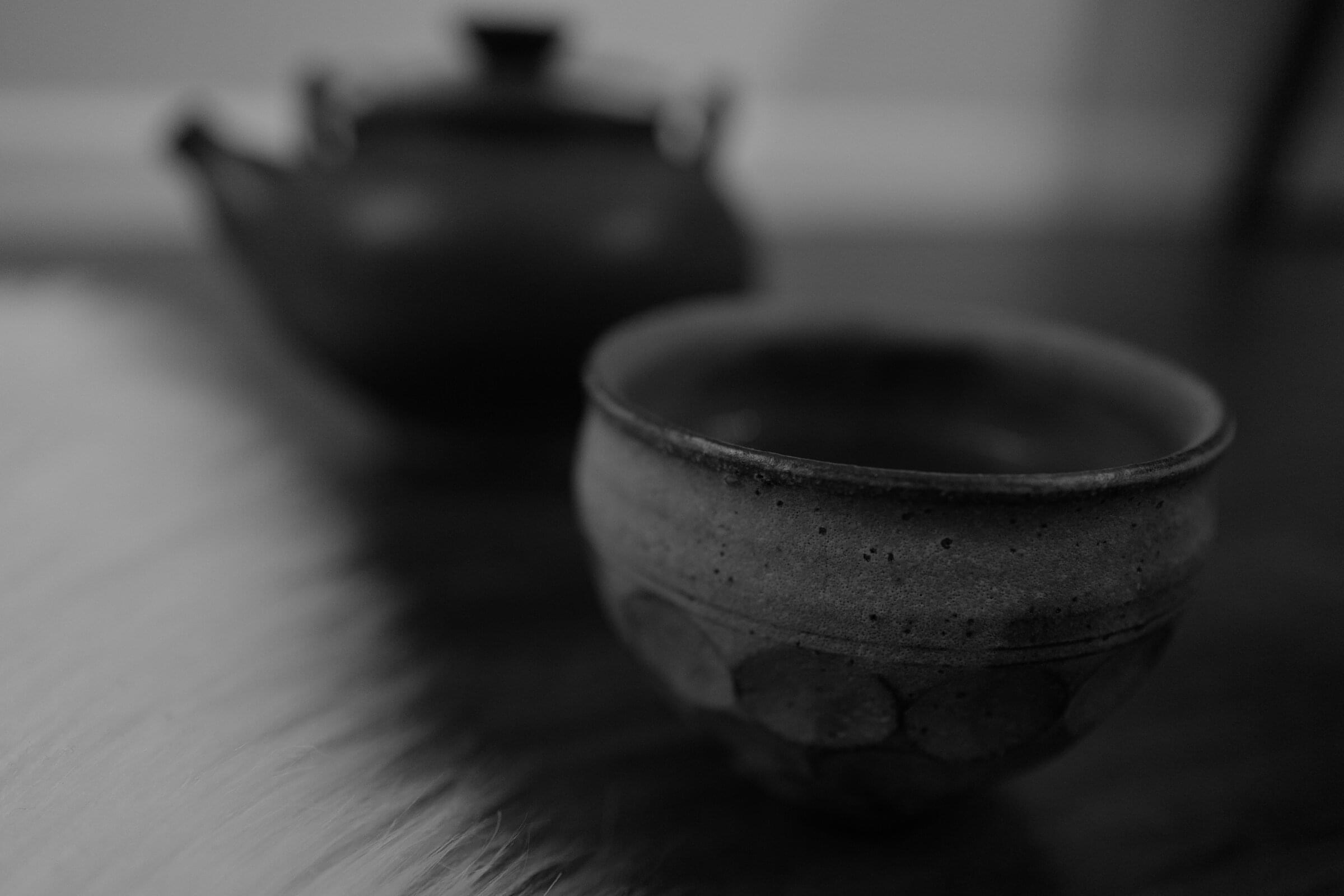 Tea set -- made in Calgary and Japan